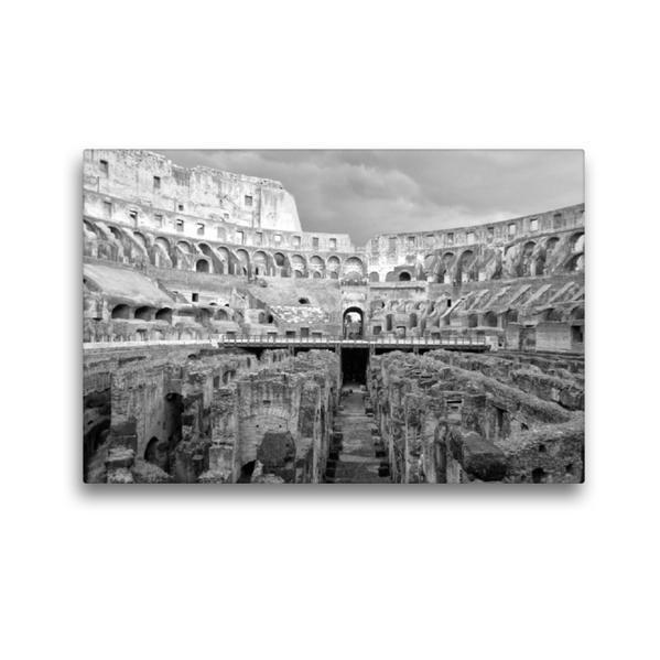 Premium Textil-Leinwand 45 cm x 30 cm quer, Auf den Wegen der Gladiatoren | Wandbild, Bild auf Keilrahmen, Fertigbild auf echter Leinwand, Leinwanddruck - Coverbild