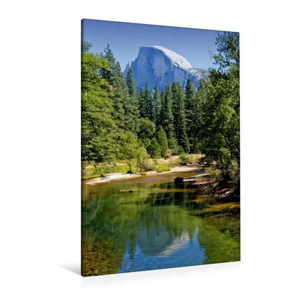 Premium Textil-Leinwand 80 cm x 120 cm  hoch, YOSEMITE VALLEY Natur Pur   Wandbild, Bild auf Keilrahmen, Fertigbild auf echter Leinwand, Leinwanddruck - Coverbild