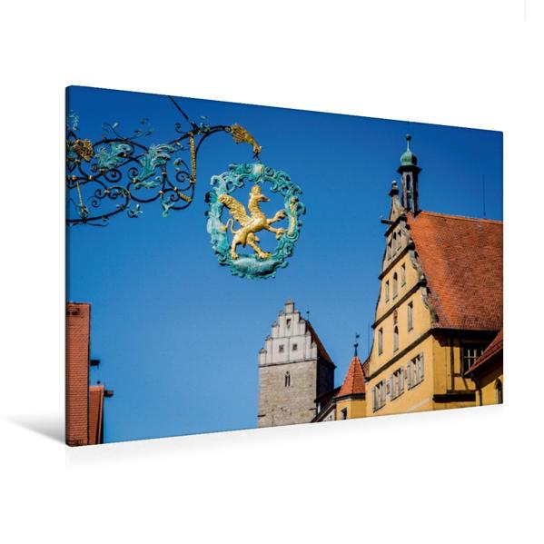 Premium Textil-Leinwand 120 cm x 80 cm quer, Ein Motiv aus dem Kalender Franken, die Perle Bayerns | Wandbild, Bild auf Keilrahmen, Fertigbild auf echter Leinwand, Leinwanddruck - Coverbild