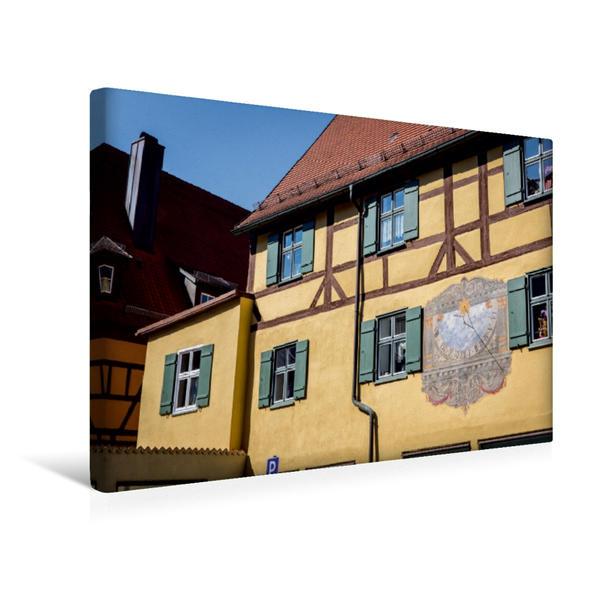 Premium Textil-Leinwand 45 cm x 30 cm quer, Lüftlmalerei | Wandbild, Bild auf Keilrahmen, Fertigbild auf echter Leinwand, Leinwanddruck - Coverbild