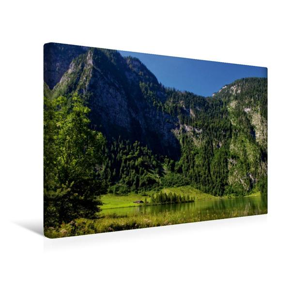 Premium Textil-Leinwand 45 cm x 30 cm quer, Landschaftsimpression bei Salet | Wandbild, Bild auf Keilrahmen, Fertigbild auf echter Leinwand, Leinwanddruck - Coverbild