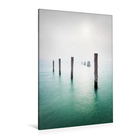 Premium Textil-Leinwand 80 cm x 120 cm  hoch, Stille | Wandbild, Bild auf Keilrahmen, Fertigbild auf echter Leinwand, Leinwanddruck - Coverbild