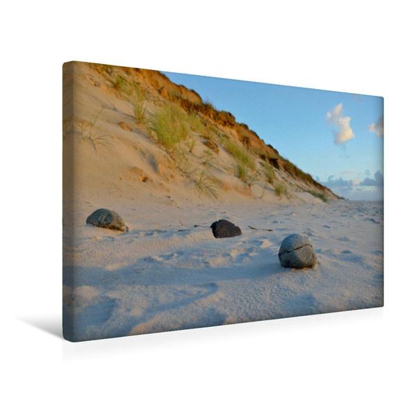 Premium Textil-Leinwand 45 cm x 30 cm quer, Rotes Kliff   Wandbild, Bild auf Keilrahmen, Fertigbild auf echter Leinwand, Leinwanddruck - Coverbild