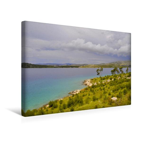 Premium Textil-Leinwand 45 cm x 30 cm quer, Kroatien | Wandbild, Bild auf Keilrahmen, Fertigbild auf echter Leinwand, Leinwanddruck - Coverbild