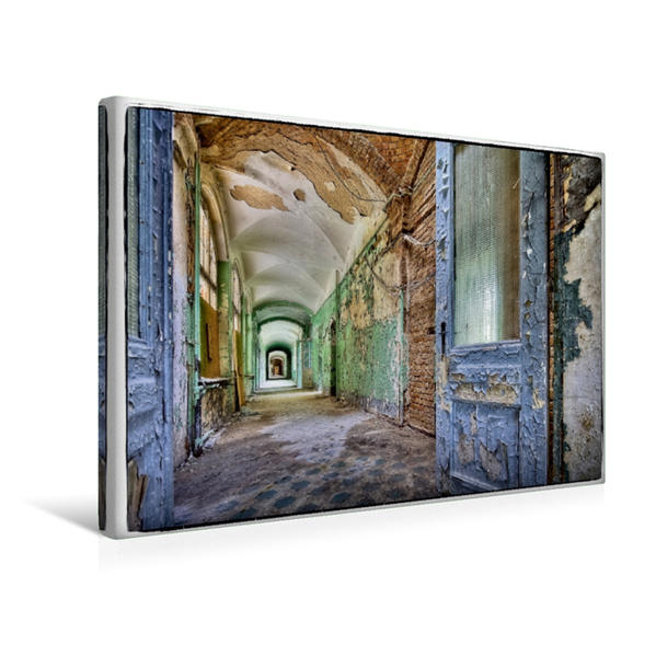 Premium Textil-Leinwand 45 cm x 30 cm quer, Ein Motiv aus dem Kalender Stille Orte Beelitz   Wandbild, Bild auf Keilrahmen, Fertigbild auf echter Leinwand, Leinwanddruck - Coverbild