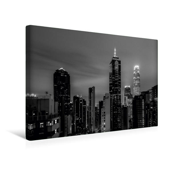 Premium Textil-Leinwand 45 cm x 30 cm quer, Häusermeer   Wandbild, Bild auf Keilrahmen, Fertigbild auf echter Leinwand, Leinwanddruck - Coverbild