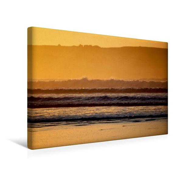 Premium Textil-Leinwand 45 cm x 30 cm quer, Dunnet Beach, Caithness, Schottland   Wandbild, Bild auf Keilrahmen, Fertigbild auf echter Leinwand, Leinwanddruck - Coverbild