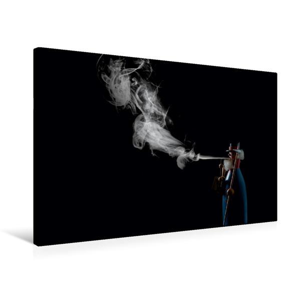 Premium Textil-Leinwand 75 cm x 50 cm quer, Ein Motiv aus dem Kalender Geheimnisvoller Rauch   Wandbild, Bild auf Keilrahmen, Fertigbild auf echter Leinwand, Leinwanddruck - Coverbild