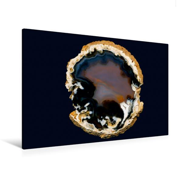 Premium Textil-Leinwand 120 cm x 80 cm quer, Ein Motiv aus dem Kalender Achate - natürlich schön   Wandbild, Bild auf Keilrahmen, Fertigbild auf echter Leinwand, Leinwanddruck - Coverbild