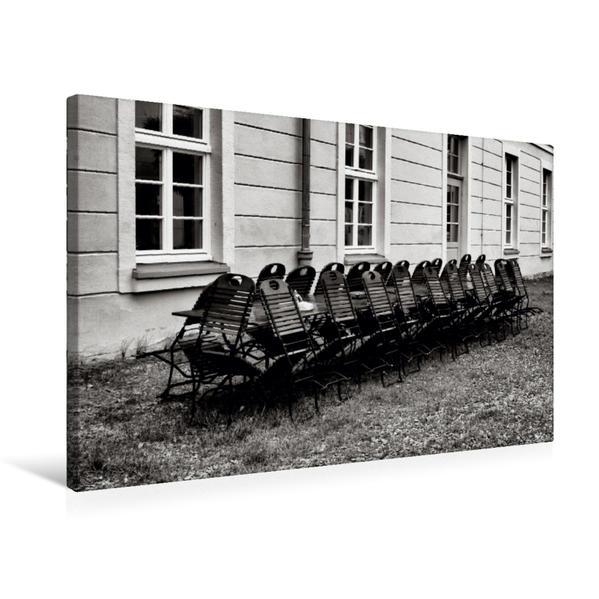 Premium Textil-Leinwand 75 cm x 50 cm quer, Park Gesundbrunnen | Wandbild, Bild auf Keilrahmen, Fertigbild auf echter Leinwand, Leinwanddruck - Coverbild