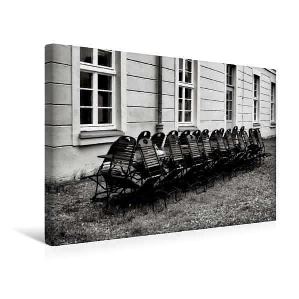 Premium Textil-Leinwand 45 cm x 30 cm quer, Park Gesundbrunnen | Wandbild, Bild auf Keilrahmen, Fertigbild auf echter Leinwand, Leinwanddruck - Coverbild