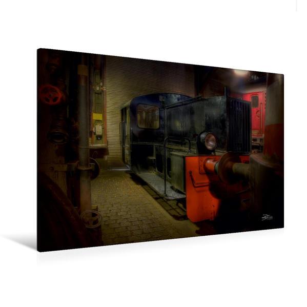 Premium Textil-Leinwand 120 cm x 80 cm quer, Köf | Wandbild, Bild auf Keilrahmen, Fertigbild auf echter Leinwand, Leinwanddruck - Coverbild