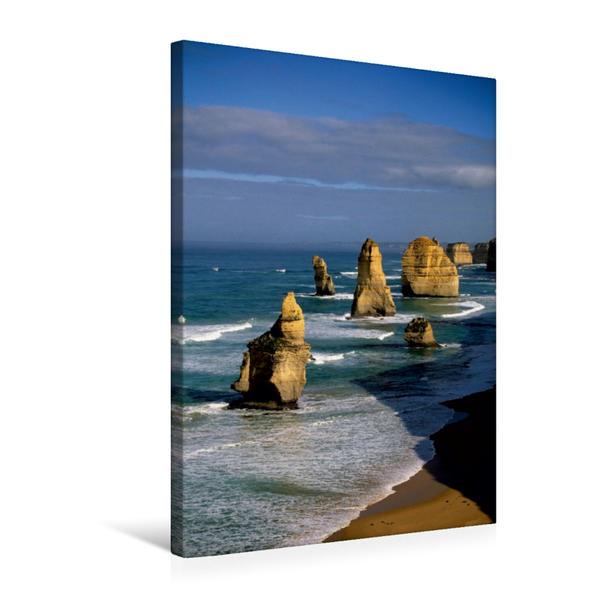 Premium Textil-Leinwand 50 cm x 75 cm hoch, Ein Motiv aus dem Kalender Australien - Terminplaner | Wandbild, Bild auf Keilrahmen, Fertigbild auf echter Leinwand, Leinwanddruck - Coverbild