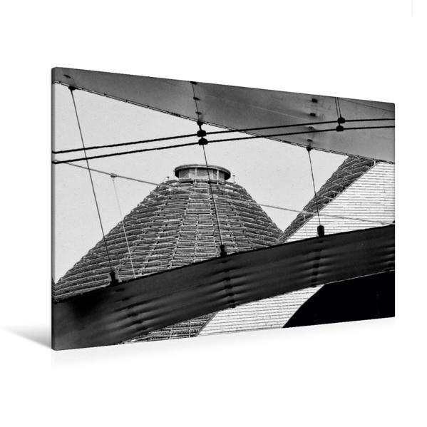 Premium Textil-Leinwand 120 cm x 80 cm quer, Formenspiel | Wandbild, Bild auf Keilrahmen, Fertigbild auf echter Leinwand, Leinwanddruck - Coverbild