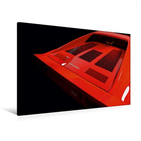 Premium Textil-Leinwand 120 cm x 80 cm quer, Ein Motiv aus dem Kalender Ferrari 288 GTO | Wandbild, Bild auf Keilrahmen, Fertigbild auf echter Leinwand, Leinwanddruck - Coverbild