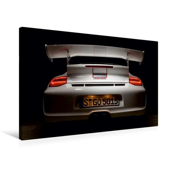 Premium Textil-Leinwand 75 cm x 50 cm quer, Ein Motiv aus dem Kalender Porsche GT3RS 4,0 | Wandbild, Bild auf Keilrahmen, Fertigbild auf echter Leinwand, Leinwanddruck - Coverbild