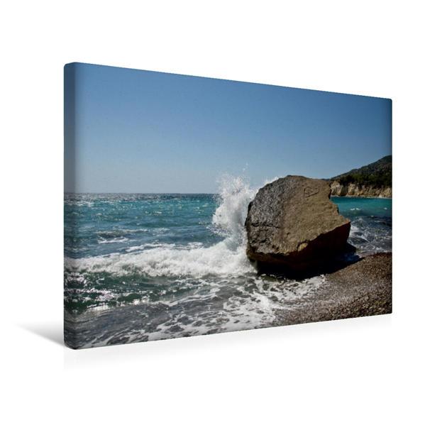 Premium Textil-Leinwand 45 cm x 30 cm quer, Ein Motiv aus dem Kalender Rhodos in 48 Bildern | Wandbild, Bild auf Keilrahmen, Fertigbild auf echter Leinwand, Leinwanddruck - Coverbild