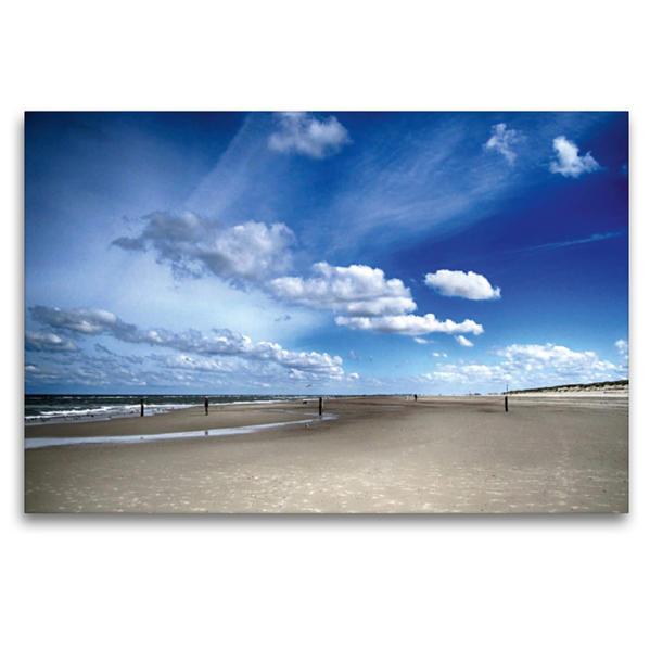 Premium Textil-Leinwand 120 cm x 80 cm quer, Ein Traumwetter   Wandbild, Bild auf Keilrahmen, Fertigbild auf echter Leinwand, Leinwanddruck - Coverbild