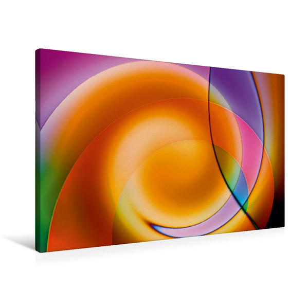 Premium Textil-Leinwand 90 cm x 60 cm quer, Balance | Wandbild, Bild auf Keilrahmen, Fertigbild auf echter Leinwand, Leinwanddruck - Coverbild