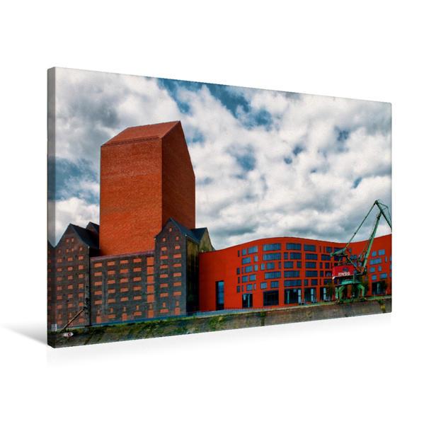 Premium Textil-Leinwand 75 cm x 50 cm quer, Landesarchiv NRW | Wandbild, Bild auf Keilrahmen, Fertigbild auf echter Leinwand, Leinwanddruck - Coverbild