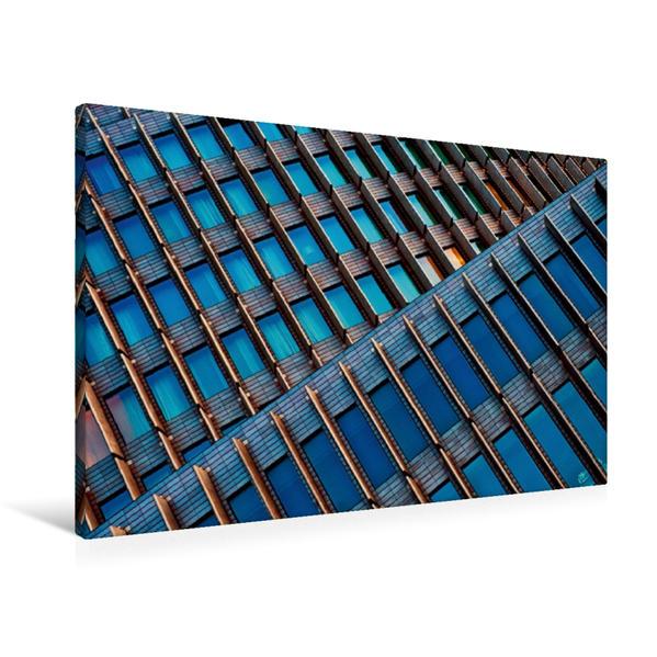 Premium Textil-Leinwand 90 cm x 60 cm quer, Kurfürstendamm in Berlin   Wandbild, Bild auf Keilrahmen, Fertigbild auf echter Leinwand, Leinwanddruck - Coverbild