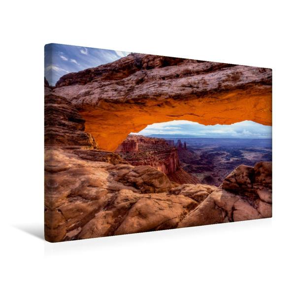 Premium Textil-Leinwand 45 cm x 30 cm quer, Ein Motiv aus dem Kalender National-Parks der USA | Wandbild, Bild auf Keilrahmen, Fertigbild auf echter Leinwand, Leinwanddruck - Coverbild
