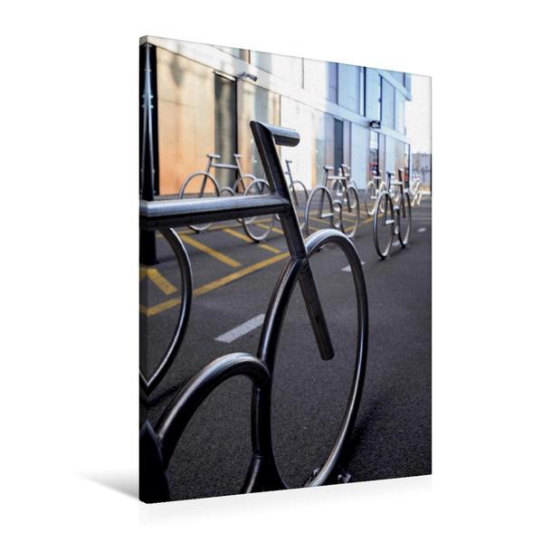Premium Textil-Leinwand 60 cm x 90 cm hoch, Rostockgata | Wandbild, Bild auf Keilrahmen, Fertigbild auf echter Leinwand, Leinwanddruck - Coverbild