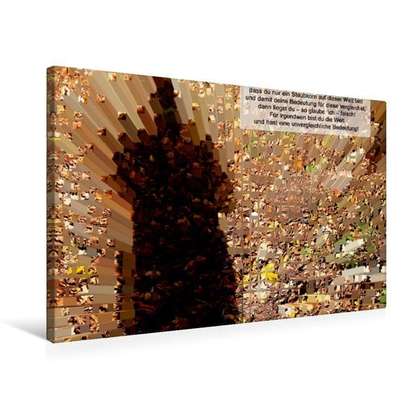 Premium Textil-Leinwand 75 cm x 50 cm quer, Metropolismus | Wandbild, Bild auf Keilrahmen, Fertigbild auf echter Leinwand, Leinwanddruck - Coverbild