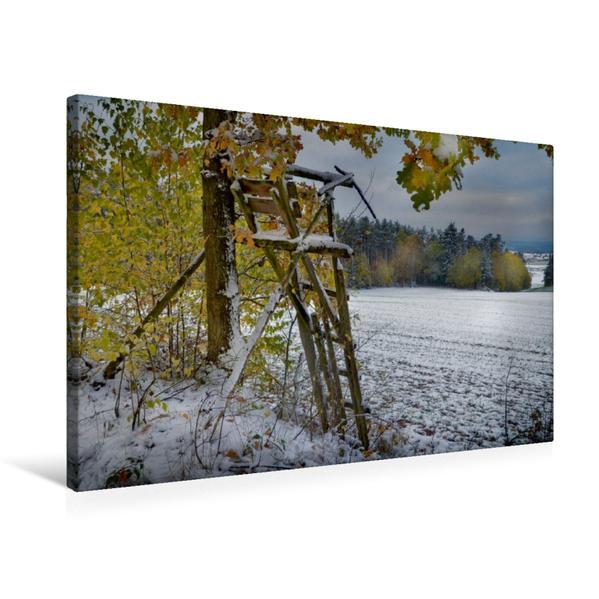 Premium Textil-Leinwand 75 cm x 50 cm quer, Ein Motiv aus dem Kalender Kanzelkalender 2017 | Wandbild, Bild auf Keilrahmen, Fertigbild auf echter Leinwand, Leinwanddruck - Coverbild