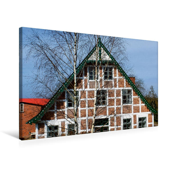 Premium Textil-Leinwand 75 cm x 50 cm quer, Versteckt | Wandbild, Bild auf Keilrahmen, Fertigbild auf echter Leinwand, Leinwanddruck - Coverbild