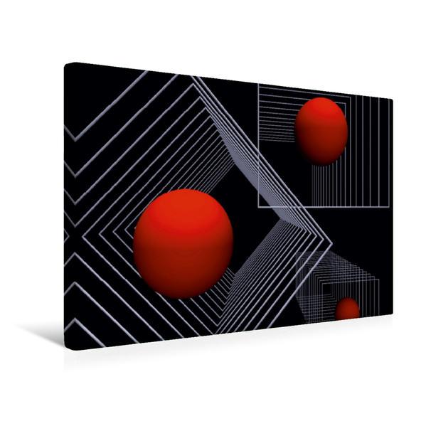 Premium Textil-Leinwand 45 cm x 30 cm quer, Ein Motiv aus dem Kalender Mit Geometrie durch das Jahr | Wandbild, Bild auf Keilrahmen, Fertigbild auf echter Leinwand, Leinwanddruck - Coverbild