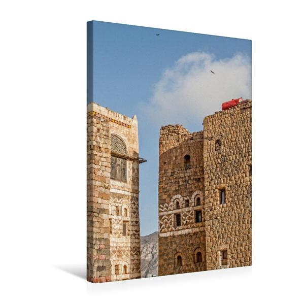 Premium Textil-Leinwand 50 cm x 75 cm hoch, Ein Motiv aus dem Kalender Der Jemen   Wandbild, Bild auf Keilrahmen, Fertigbild auf echter Leinwand, Leinwanddruck - Coverbild