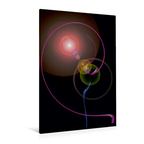 Premium Textil-Leinwand 80 cm x 120 cm  hoch, Ein Motiv aus dem Kalender Magical Licht und Energie | Wandbild, Bild auf Keilrahmen, Fertigbild auf echter Leinwand, Leinwanddruck - Coverbild