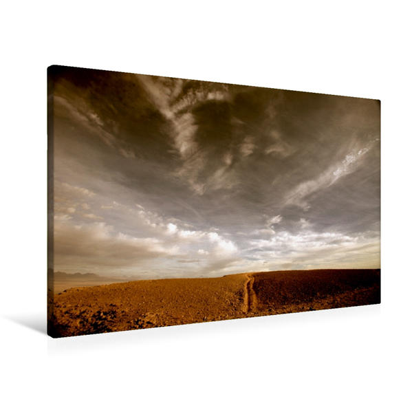 Premium Textil-Leinwand 90 cm x 60 cm quer, Bewegung | Wandbild, Bild auf Keilrahmen, Fertigbild auf echter Leinwand, Leinwanddruck - Coverbild