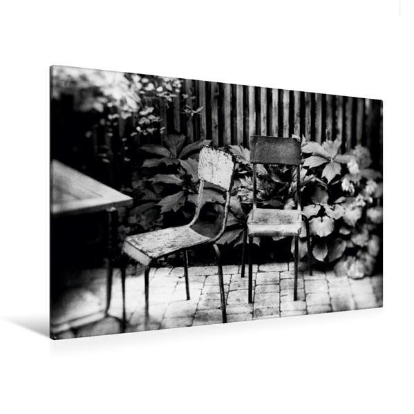 Premium Textil-Leinwand 120 cm x 80 cm quer, Nimm Platz in Berlin Wedding | Wandbild, Bild auf Keilrahmen, Fertigbild auf echter Leinwand, Leinwanddruck - Coverbild