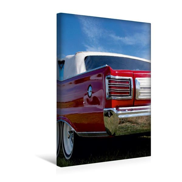 Premium Textil-Leinwand 30 cm x 45 cm hoch, Autoklassiker   Wandbild, Bild auf Keilrahmen, Fertigbild auf echter Leinwand, Leinwanddruck - Coverbild