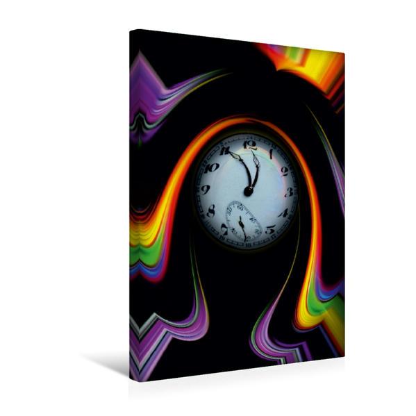 Premium Textil-Leinwand 30 cm x 45 cm hoch, Ein Motiv aus dem Kalender Regenbogenfarben magisch vereint   Wandbild, Bild auf Keilrahmen, Fertigbild auf echter Leinwand, Leinwanddruck - Coverbild