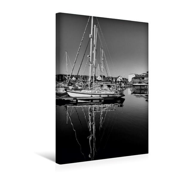 Premium Textil-Leinwand 30 cm x 45 cm hoch, Segelschiffe | Wandbild, Bild auf Keilrahmen, Fertigbild auf echter Leinwand, Leinwanddruck - Coverbild