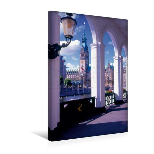 Premium Textil-Leinwand 30 cm x 45 cm hoch, Ein Motiv aus dem Kalender Hamburg - Eine Stadt mit vielen Gesichtern | Wandbild, Bild auf Keilrahmen, Fertigbild auf echter Leinwand, Leinwanddruck - Coverbild