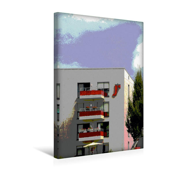 Premium Textil-Leinwand 30 cm x 45 cm hoch, Helene Schweitzer Zentrum | Wandbild, Bild auf Keilrahmen, Fertigbild auf echter Leinwand, Leinwanddruck - Coverbild