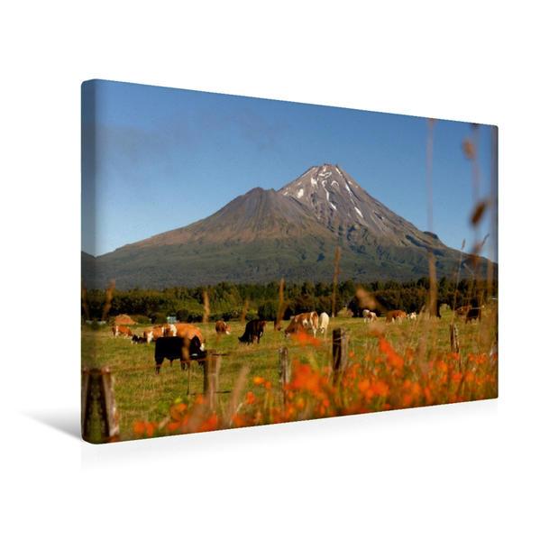 Premium Textil-Leinwand 45 cm x 30 cm quer, Neuseelands traumhafte Inselwelt | Wandbild, Bild auf Keilrahmen, Fertigbild auf echter Leinwand, Leinwanddruck - Coverbild