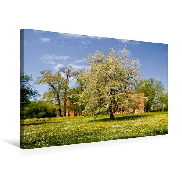 Premium Textil-Leinwand 75 cm x 50 cm quer, Ein Motiv aus dem Kalender Landschaften im Norden   Wandbild, Bild auf Keilrahmen, Fertigbild auf echter Leinwand, Leinwanddruck - Coverbild