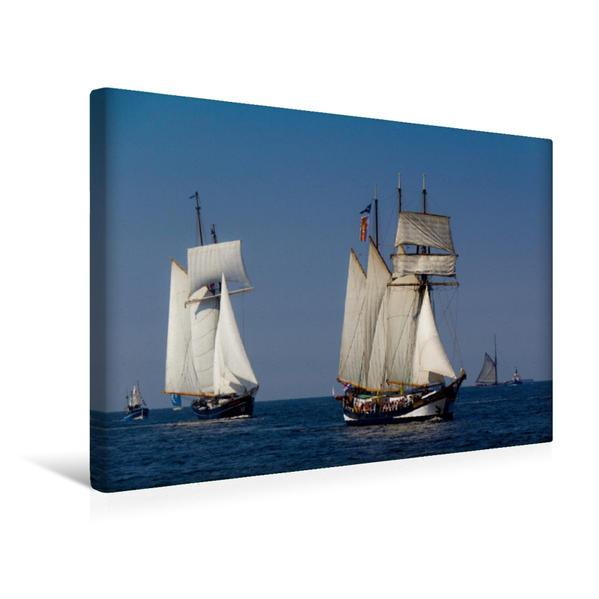 Premium Textil-Leinwand 45 cm x 30 cm quer, Swarnsborgh | Wandbild, Bild auf Keilrahmen, Fertigbild auf echter Leinwand, Leinwanddruck - Coverbild