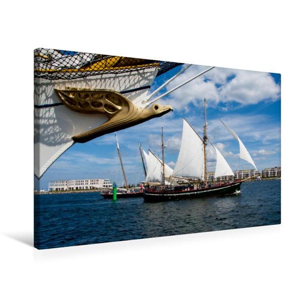 Premium Textil-Leinwand 75 cm x 50 cm quer, Marco Polo | Wandbild, Bild auf Keilrahmen, Fertigbild auf echter Leinwand, Leinwanddruck - Coverbild