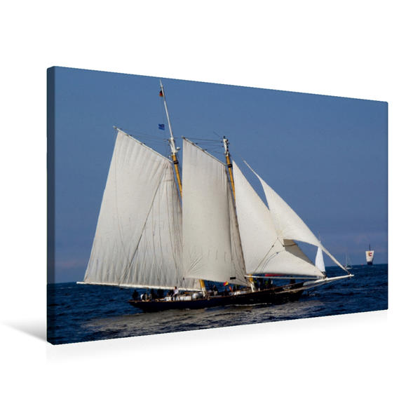 Premium Textil-Leinwand 75 cm x 50 cm quer, Skythia | Wandbild, Bild auf Keilrahmen, Fertigbild auf echter Leinwand, Leinwanddruck - Coverbild