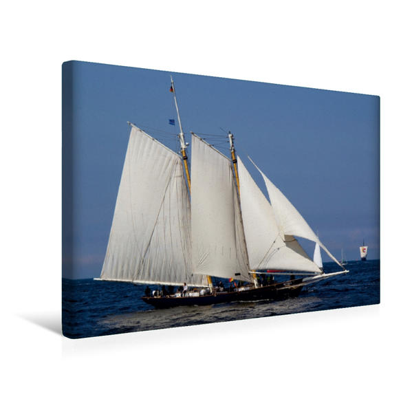 Premium Textil-Leinwand 45 cm x 30 cm quer, Skythia | Wandbild, Bild auf Keilrahmen, Fertigbild auf echter Leinwand, Leinwanddruck - Coverbild
