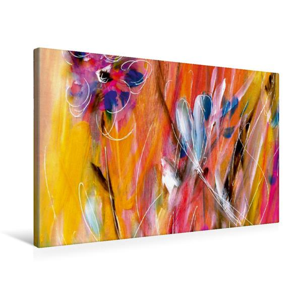 Premium Textil-Leinwand 75 cm x 50 cm quer, Sommerfreude | Wandbild, Bild auf Keilrahmen, Fertigbild auf echter Leinwand, Leinwanddruck - Coverbild