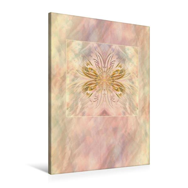 Premium Textil-Leinwand 60 cm x 90 cm hoch, Ornament
