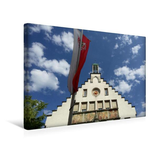 Premium Textil-Leinwand 45 cm x 30 cm quer, Ein Motiv aus dem Kalender in und um Weingarten | Wandbild, Bild auf Keilrahmen, Fertigbild auf echter Leinwand, Leinwanddruck - Coverbild