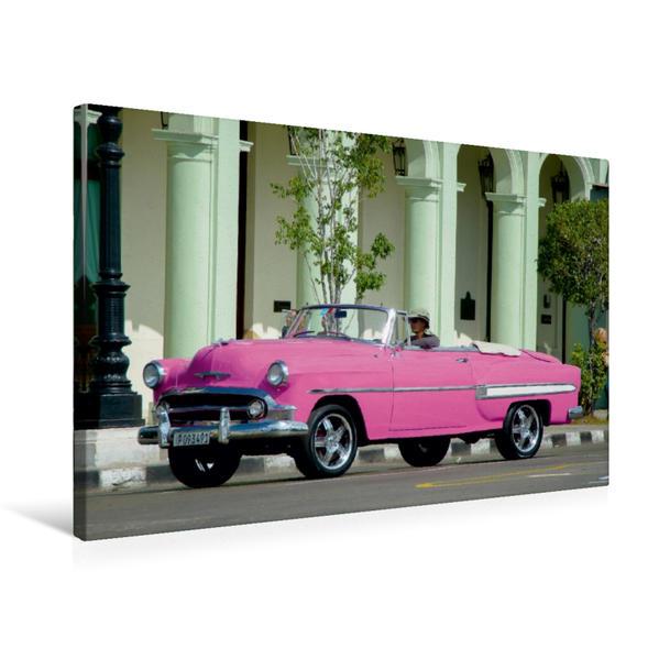 Premium Textil-Leinwand 75 cm x 50 cm quer, Ein Motiv aus dem Kalender Traumautos made in USA   Wandbild, Bild auf Keilrahmen, Fertigbild auf echter Leinwand, Leinwanddruck - Coverbild